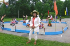 Carol suported the YMCA Walkathon Fundraising + Game Day - June 2010