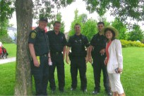 Carol joined the community event at the Park of Richmond Hill - May 2010