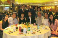 Gathering at the Best Volunteer Award - Helen Luk's Banquet, June 2010