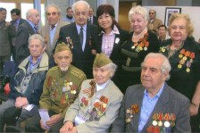 Carol joined the Asian Month with the retired soldiers - May 2010