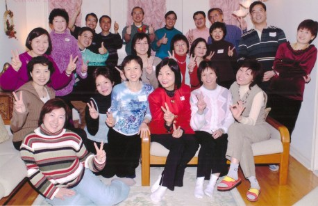 The support team members of Carol Chan's campaign