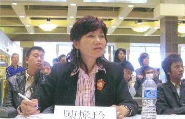 Carol was the judge of Ontario Chinese Debate Association - May 2010