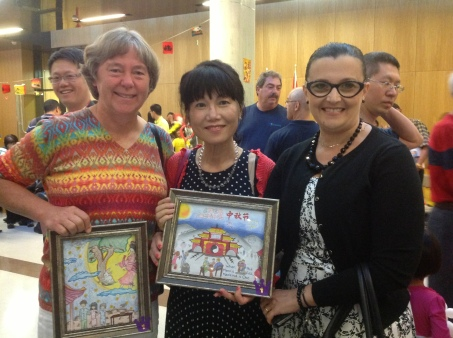 Integrated Multi-literacy through Arts - art competition on Chinese Moon Festival