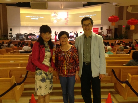 Thank you for the continuous support from Rev. Dr. Sam Chan of Richmond Hill Chinese Christian Community Church