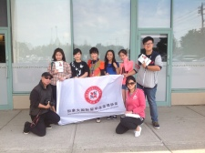 EA students help Carol Chan for canvassing as volunteers